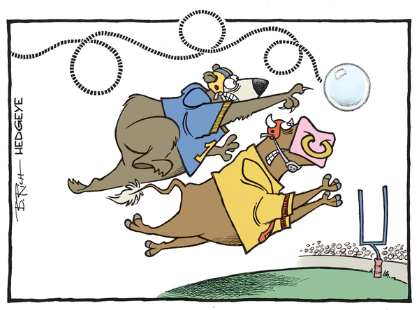 Cartoon of the Day: Hail Mary Bubble! - bubble cartoon 11.02.2015