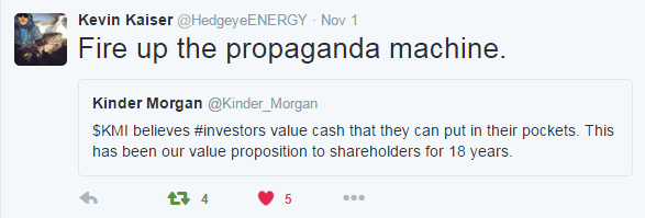 Timber... Still A Long Way To Fall for Kinder Morgan | $KMI - 11 4 2015 kmi prop