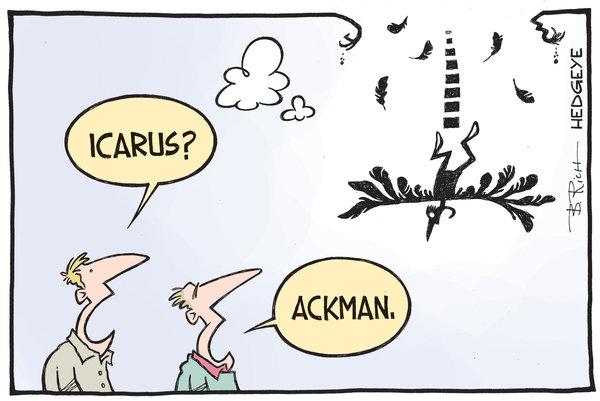 Cartoon of the Day: Hubris - Ackman cartoon 11.09.2015