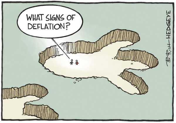 Cartoon of the Day: The Footprint - Deflation cartoon 11.10.2015