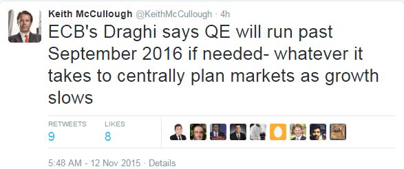 BREAKING: Draghi To Double Down on 'Whatever It Takes' - ecb draghi