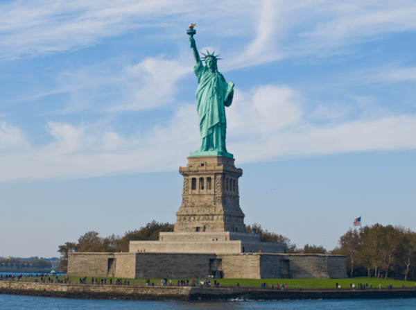 Liberty's Colossus - statue of liberty