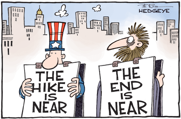 Cartoon of the Day: The Rate Hike Is Near - Rate hike cartoon 11.27.2015
