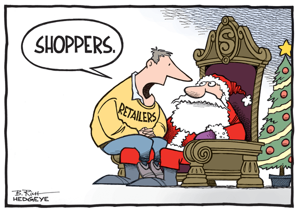 Forget About Black Friday... The Outlook For Retail Isn't Good | $XRT  - Retail cartoon 12.01.2014