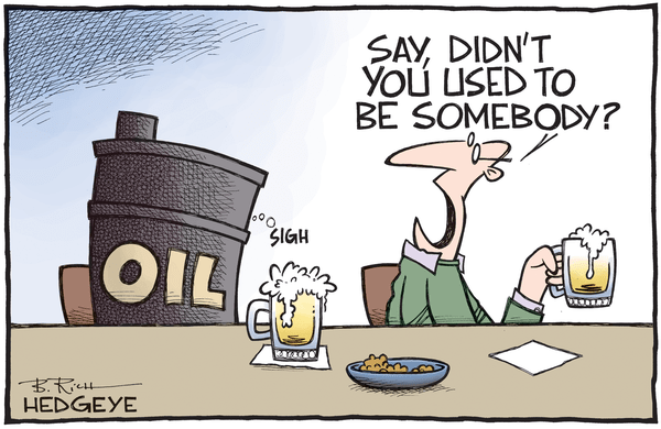 CRASH: Strong Dollar Deflation Continues To Crush Commodities - Oil cartoon 11.20.2015