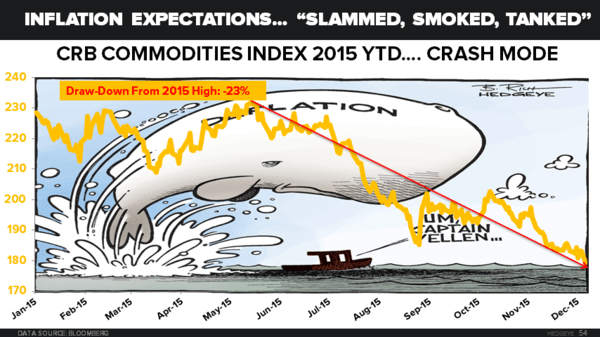 CHART OF THE DAY: The Epic Crash In Commodities - 12.08.15 EL chart