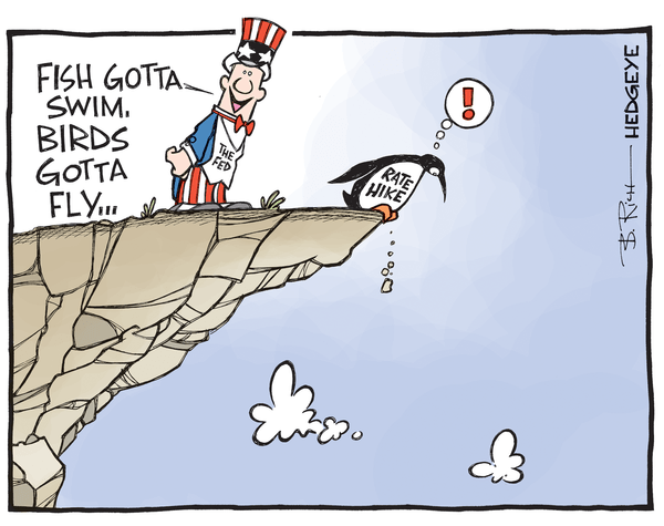 Investing Ideas Newsletter - rate hike cartoon 12.10.2015