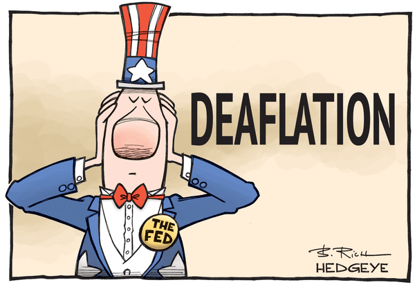 BREAKING: #Deflation Confounds Fed's 'Transitory' Storytelling - Deaflation cartoon 12.09.2015