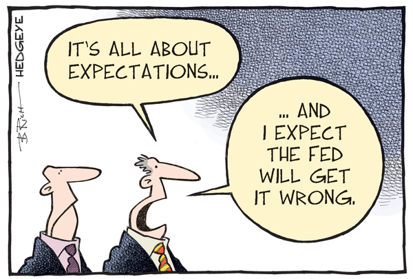 Cartoon of the Day: Great Expectations? - FED cartoon 12.15.15