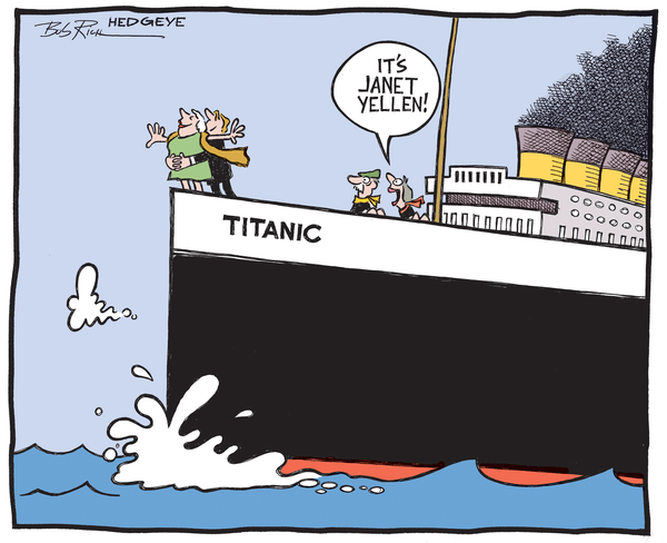 Another Round Of (Recessionary) Data? Hike Away Janet! - Titanic 03.31.2014