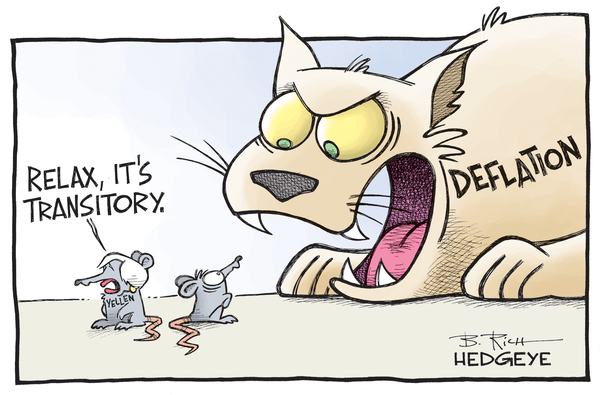 Cartoon of the Day: Meow! - Deflation cartoon 12.17.2015