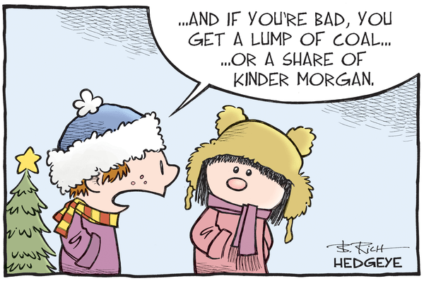 Cartoon of the Day: The Naughty List - Kinder Morgan lump of coal 12.18.2015