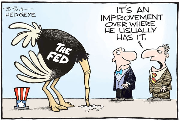 Cartoon of the Day: In The Sand - Fed cartoon 12.21.2015