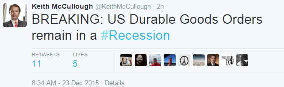 INSTANT INSIGHT | The Coming Recession? - durable