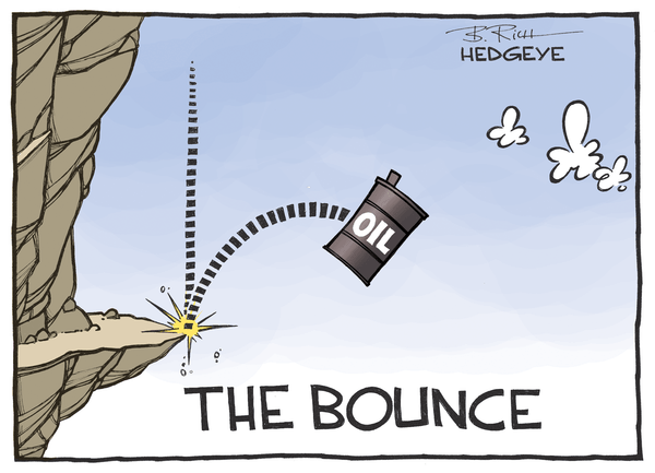 Cartoon of the Day: Look Out Below! - Oil cartoon 12.28.2015