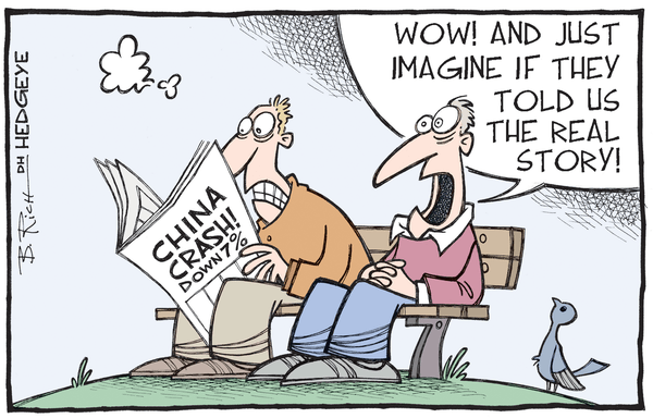 Cartoon of the Day: China's Slowdown Resurfaces - China cartoon 01.05.2015