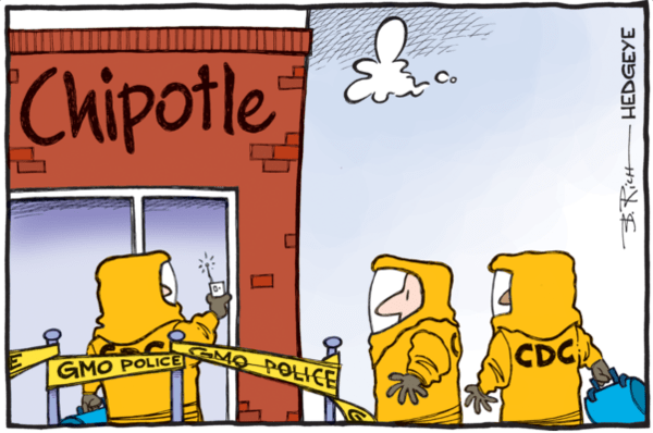 IN THE NEWS: Barron's On Hedgeye Restaurants Analyst Howard Penney's Short Chipotle Call | $CMG - chipotle cartoon