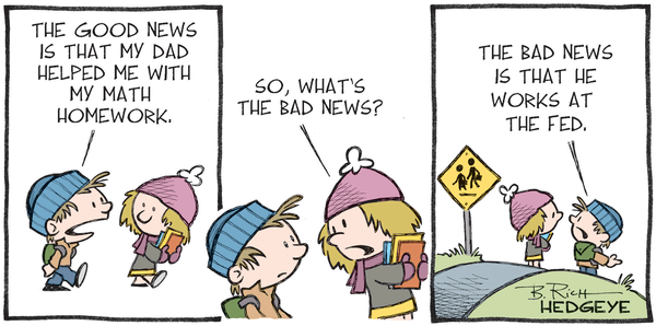 Cartoon of the Day: Good News, Bad News - Fed cartoon 01.11.2015