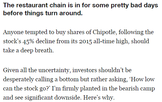 See This On Fortune? Howard Penney's Big Short Call on Chipotle  - z chip