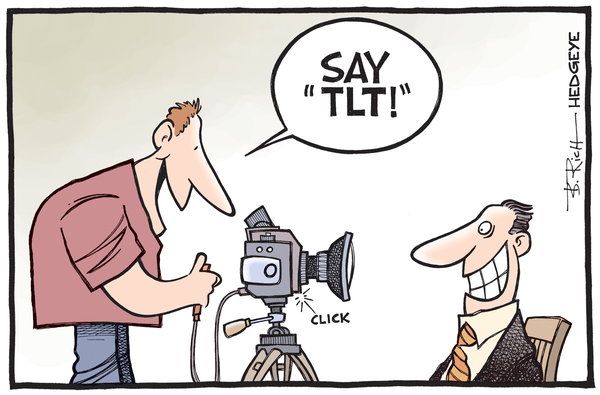 Shelter From The Storm: A Winning Hedgeye Call In The Market Bloodbath - TLT cartoon 01.26.2015