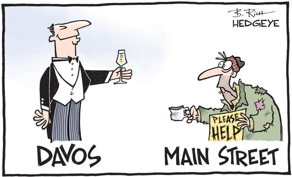 Cartoon of the Day: Meanwhile At Disneyland... *ahem* Davos - Davos cartoon 01.20.2016