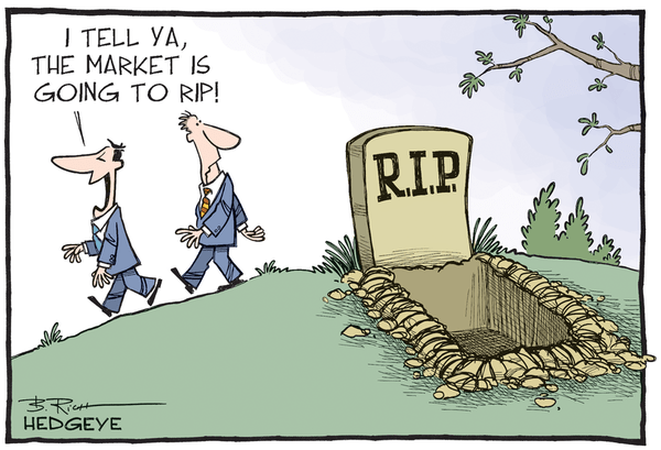 8 Cartoons and Videos Distilling Our Contrarian Macro Calls - The market is going to rip cartoon 10.06.2015