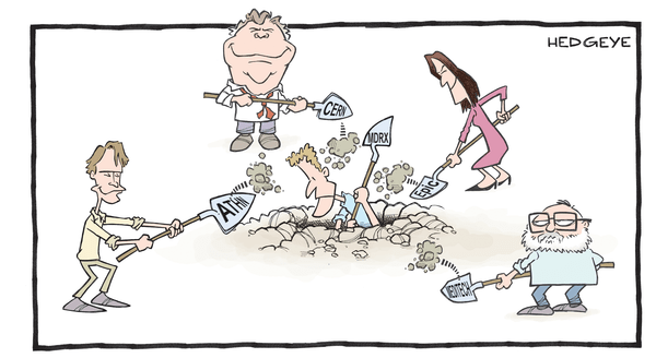 Investing Ideas Newsletter - Allscripts cartoon