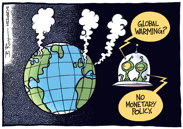 5 Hilarious Central Planning Cartoons - Monetary policy cartoon 11.07.2014