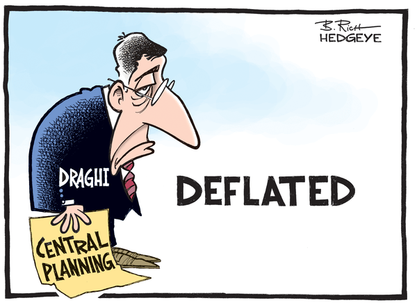 Out Of Ammo: Central Planners Grasp For Straws As Global Equities Crash - Draghi cartoon 01.08.2015