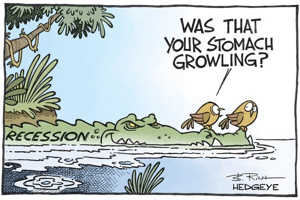 Why The Likelihood of Recession Is Rising - recession cartoon 12.22.2015