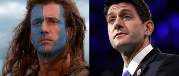 JT Taylor: The Vulnerables Take Aim At Rubio ...  Paul Ryan Channels William Wallace  - braveheart