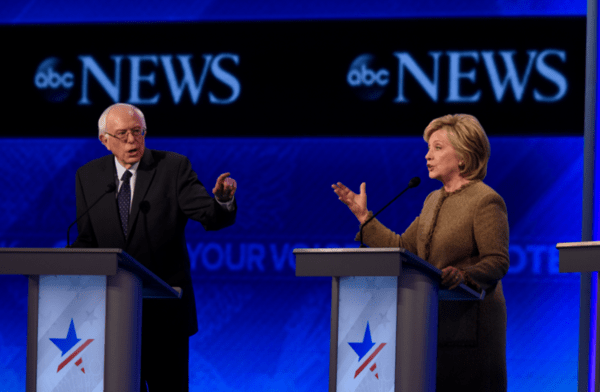 JT Taylor: Clinton Hits Her Stride In Debate ... But Stumbles On Wall Street Ties - bernie hill