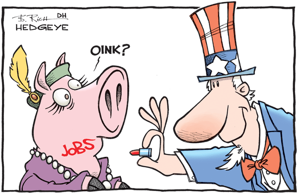 Cartoon of the Day: Lipstick On A Pig - jobs pig cartoon 02.05.2016