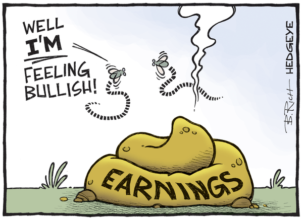 A Quick Update On (Ugly) S&P Earnings & (Nasty) YTD Sector Performance - Earnings cartoon 11.03.2015