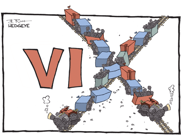 Cartoon of the Day: Train Wreck - VIX train wreck cartoon 02.11.2016
