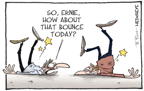 Bounce? A Quick Review Of (Crashing) Global Markets - bounce cartoon 02.12.2016