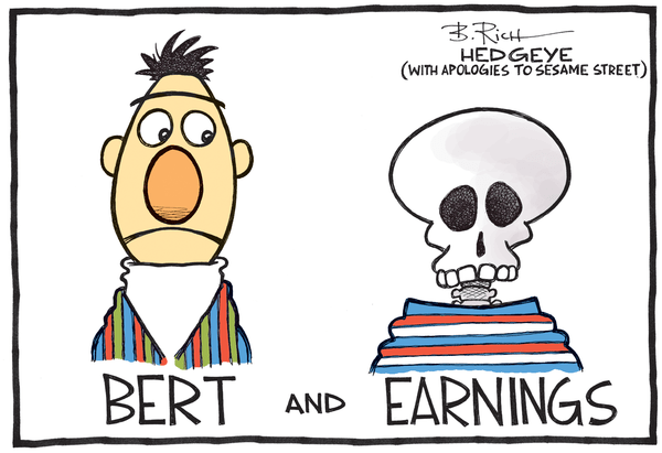 Train Wreck: An Earnings Season Update  (And Why Stocks Are Crashing) - earnings cartoon 01.27.2015