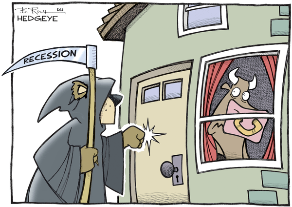 Cartoon of the Day: Recession Knocking? - recession cartoon 02.22.2016