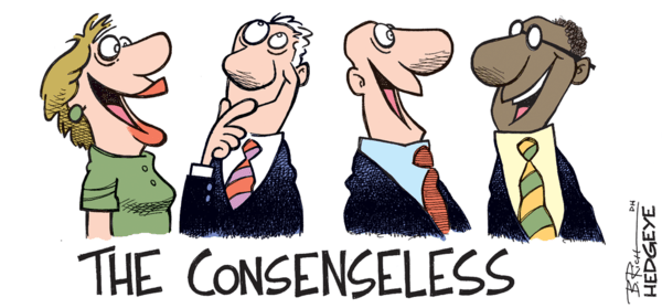 A Look At Wall Street's Hopes & Dreams Versus Hedgeye Research - consenseless 3