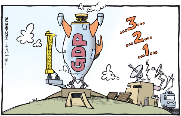 Disciplined Risk Premiums - GDP cartoon 02.29.2016