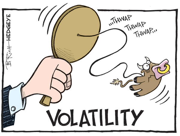 How To Trade This Market Chop and Volatility - Volatility cartoon 09.02.2015