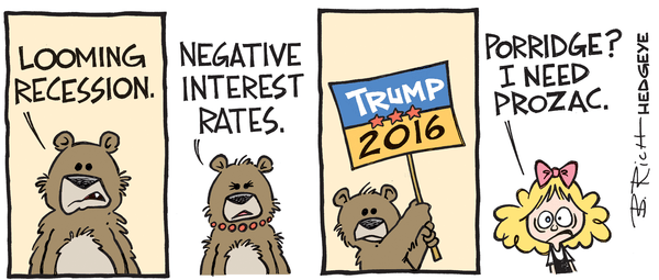 This Week In Hedgeye Cartoons - three bears cartoon 03.08.2016
