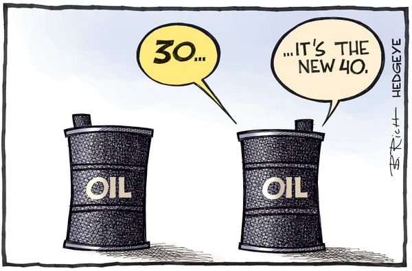 Cartoon of the Day: Crude Or Crud? - oil cartoon 03.15.2016