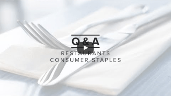 Hedgeye TV | Restaurants & Consumer Staples LIVE + Interactive Wednesday at 2:15PM ET - rest consumerstaples