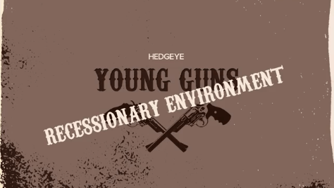 REPLAY! This Week On HedgeyeTV - young guns recessionary