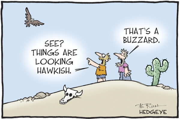 This Week In Hedgeye Cartoons - Hawkish cartoon 03.14.2016