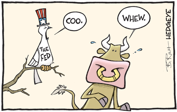 Cartoon of the Day: Cuckoo Markets - Dovish Fed cartoon 03.17.2016
