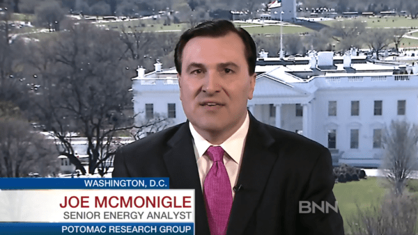 McMonigle: 'Oil Production Freeze Without Iran Is No Freeze' - mcmonigle pic