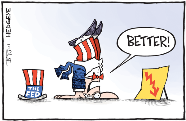 Why Atlanta Fed's GDP Forecast Is Crashing - Fed cartoon 02.01.2016