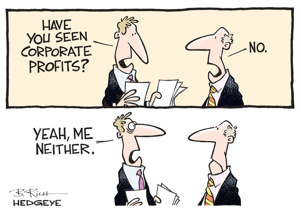 Cartoon of the Day: Corporate Contraction - corp profits cartoon 03.28.2016